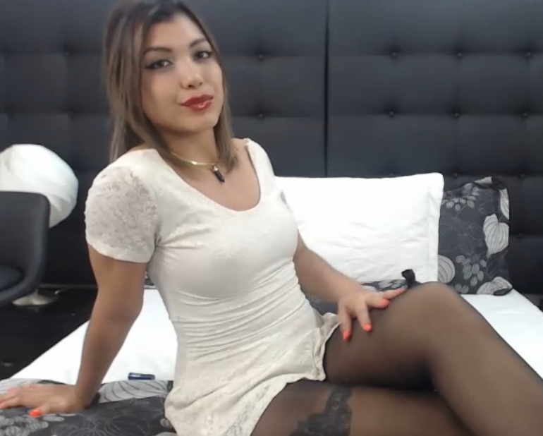 online girl
